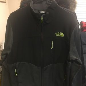 The North Face zip jacket